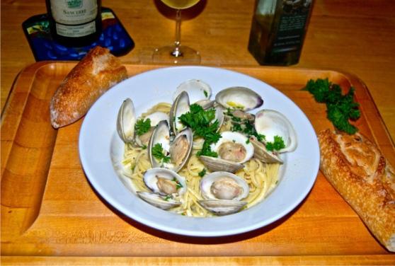 linguine clam