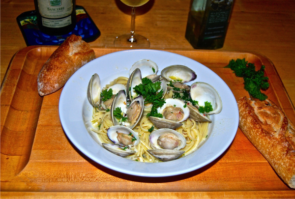 linguine clam